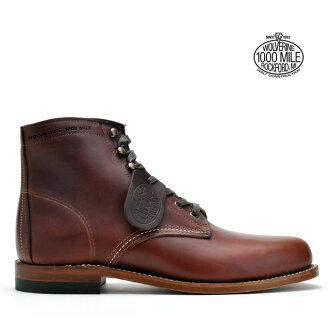 Wolverine WOLVERINE 1000MILE BOOTS W05299 RUST Wolverine 1,000 mile boot W05299 last Vibram sole グッドイヤーウェルト method ◆