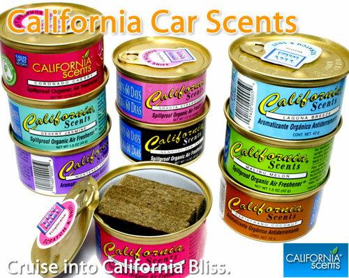 カリフォルニアセンツ人気のCARエアフレッシュナー