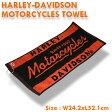 ショッピングハーレーダビッドソン HARLEY-DAVIDSON ハーレーダビッドソン モーターサイクルタオル HDL-18502