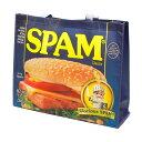 ショッピングバッグ SPAM スパム トートバッグ 大き目 買い物バッグ エコバッグ アメリカ雑貨