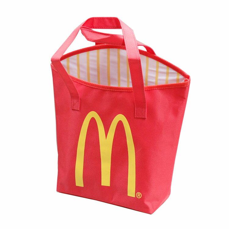 キャンバストートバッグ マクドナルド マックフライポテト McDonald's アメリカ雑貨 アメリカン雑貨