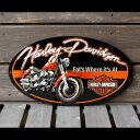 ハーレーダビッドソン 3Dメタルサイン 「H-D Fat Boy Oval」#2010941 /HARLEY-DAVIDSON/ファットボーイ/ブリキ看板/アメリカン雑貨/ 【05P01Oct16】