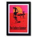 サーフムービーポスター L-124 「The Endless Summer」 サイズ:31×21cm アメリカ雑貨 アメリカン雑貨
