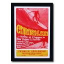 サーフムービーポスター L-52 「Children of the sun」 サイズ:31.5×21.5cm アメリカ雑貨 アメリカン雑貨