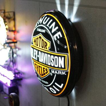 【HARKEY-DAVIDSON】ハーレーダビッドソンパブライト<オイル缶>HDL-15619