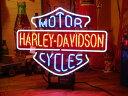ネオンサイン HARLEY DAVIDSON ネオン管 照明 店舗装飾 インテリア ガレージング アメリカ雑貨 アメリカン雑貨