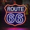 【送料無料】ネオンサイン ROUTE 66(ルート66) 【05P18Jun16】