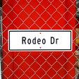ショッピングロデオドライブ Made in USA ストリートサイン / Rodeo Dr (ロデオドライブ) 【P06May16】
