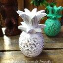 RoomClip商品情報 - HAWAIIAN Pineapple Decoration パイナップル デコレーションオーナメント ホワイト 置物 ハワイアン雑貨 飾り 木彫り インテリア雑貨 アメリカン雑貨 アメリカ雑貨