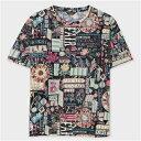 ポールスミス フェスティバルグラフィック Tシャツ ブ