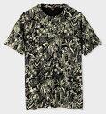 ポールスミス Tシャツ トロピカルスケッチ ブラック M