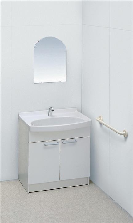 ###TOTO【LDA758AYQRA】病室用洗面化粧台 (750サイズ・約3L/分仕様) 受注生産