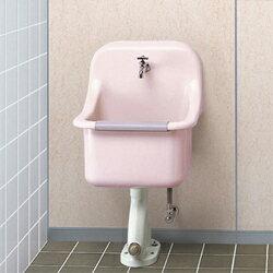 『カード対応OK!』###TOTO パブリック向け オンライン【SK22A】セットバック付掃除用流し給水栓付 壁排水Pトラップセット:クローバー資材館 ☆☆SK22A