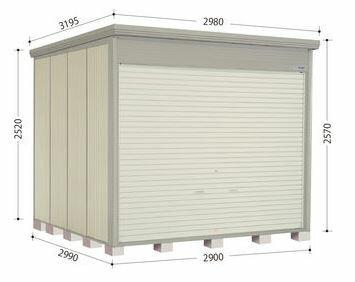###u.タクボ物置【JNE-Z2929】NDEシリーズ Mr.ストックマン ダンディ 中・大型物置 結露減少屋根 一般型 受注生産