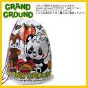 ショッピンググラグラ JAM【ジャム】ラッピング袋♪ギフト袋【グラグラ/Grand Ground】子供服ショルダーバッグ/ナップサック ギフトにも♪(F)GB-5