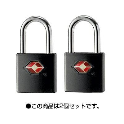 TSAロック南京錠カギタイプ【PL-283】