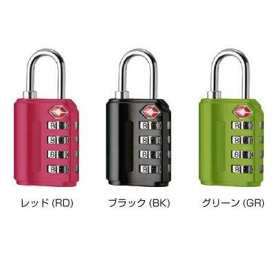 TSAロック南京錠4桁ダイヤルロック【PL-399】の紹介画像2