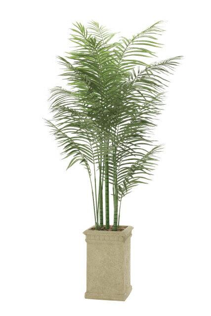 【送料無料】《アートグリーン》《人工観葉植物》光触媒 光の楽園 トロピカルアレカパ—ム2.0