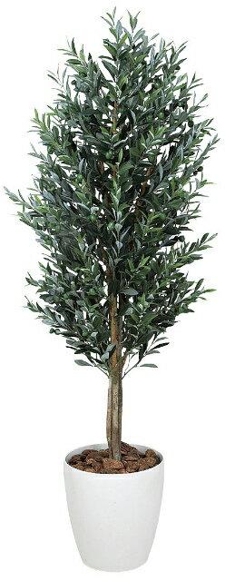 【送料無料】《アートグリーン》《人工観葉植物》光触媒 光の楽園 オリ−ブ1.6
