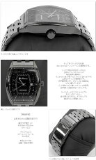 BenShermanブラックフェイス腕時計【送料無料】メンズベンシャーマンガンメタル新作縦長ウォッチファッションステンレススティールベルトStainlessSteel腕時計アナログウォッチUKモッズbs048