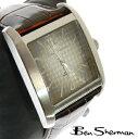 ベンシャーマン Ben Sherman シルバー フェイス 腕時計 メンズ ギフト