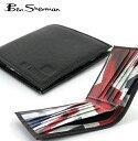 ベンシャーマン Ben Sherman 二つ折り 財布 本革レザー フラッグ ユニオンジャック ビルフォード ウォレット 【送料無料】 メンズ ギフト