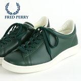 フレッドペリー Fred Perry スニーカー シューズ ブロー Breaux 本革レザー タータングリーン 日本製 メンズ レディース 靴 プレゼント ギフト