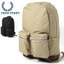 フレッドペリー Fred Perry リュックサック バックパック 47×31.5x13.5cm 2色 ネイビー ベージュ 大容量 大きい メンズ レディース 通..