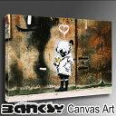 """バンクシー 壁掛け アート アートパネル アートフレーム 【送料無料】BANKSY CANVAS ART バンクシー """" Blur Think Tank """" 60.5 x 40.5 .."""