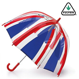 Fulton FULTON umbrella umbrella kids mini umbrella children ファンブレラ long umbrella United Kingdom Royal Union Jack Union Jack Kids Kids Kids Fulton Funbrella Umbrella umbrella slim mod fashion United Kingdom London fultonc605unionjack