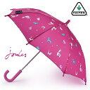 SALE セール FULTON 傘 小型 キッズ フェスティバル アニマルズ ジュールス ミニ アンブレラ 【送料無料】 フルトン 子供用 ジュニア 長傘 子ども アニマル ボタニカル Junior Umbrella かさ イギリス ロンドン ギフト