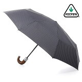 フルトン FULTON 傘 アンブレラ メンズ Chelsea 紳士用 紳士 折りたたみ傘 【】 英国王室御用達 チェルシー ストライプ グレー Umbrella かさ イギリス