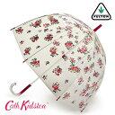 FULTON × CATH KIDSTON 傘 レディース バードケージ グローブ バンチ キャスキッドソン フルトン 長傘 花柄 かさ プレゼント ギフト