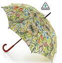 【傘 レディース】フルトン FULTON 傘 レディース x モリス Golden Lily 長傘 花柄 Morris 傘 レディース 英国王室御用達 フルトン かさ おしゃれ 傘 レディース ギフト