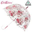 FULTON × CATH KIDSTON 傘 レディース バードケージ ブランプトン バンチ キャスキッドソン フルトン 長傘 花柄 かさ プレゼント ギフト