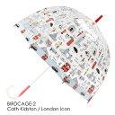 FULTON × CATH KIDSTON 傘 レディース バードケージ ロンドンアイコン キャスキッドソン フルトン 長傘 かさ プレゼント ギフト