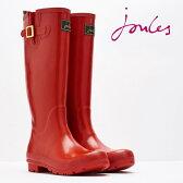 Joules レインブーツ 長靴 フィールドウェリー ダークレッド 16SS レディース