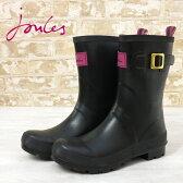 Joules 長靴 レインブーツ ケリーウェリー グロス ブラック 16SS 【送料無料】 レディース