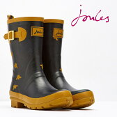 Joules 長靴 レインブーツ モリーウェリー ブラックビー 16SS【送料無料】 レディース