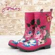Joules 長靴 レインブーツ モリーウェリー ピンクポジー 16SS 【送料無料】 レディース