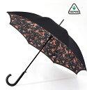 FULTON フルトン 傘レディース Bloomsbury Spring Floral 長傘 女性 花柄 正規 かさ プレゼント ギフトホワイトデー