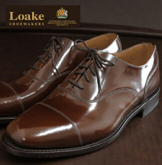 Loake England Rourke England mens shoes 200 CH United Kingdom brand L1 Simple Capped Oxford Polished Leather Goodyear Welted brown leather leather leather leather shoes leather shoes United Kingdom London United Kingdom Royal purveyor loake200brown *26.5