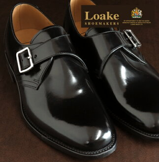 Loake England Rourke England mens leather buckle monk shoes 204B United Kingdom brand L1 Buckle Monk Shoes genuine leather leather leather shoes leather shoes Black Black mod United Kingdom United Kingdom Royal loake204black * 26 * 27