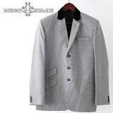 Madcap England ブレザージャケット テーラード ドッグトゥース 17SS 新作 春物 レトロ スリムフィット マッドキャップ メンズ