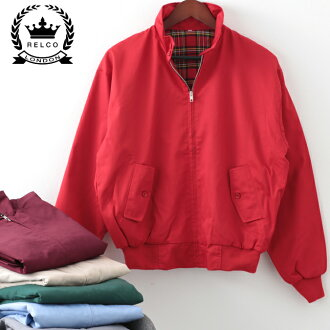 RELCO レルコ 9 color swing top Harrington jacket men's 2013 new Harrington Jacket swing top swing red tartan check K mod モッズファッション mhrj * xs * s * m * l * xl