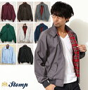 Latest Harrington Jacket swing top swing jacket red tartan check UK Mods fashion schj *xs *s *m *l *xl made in ten colors of stomp Stomp swing top Harrington jacket men outer [free shipping] U.K.