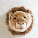 WILD&SOFT(�磻��ɥ���ɥ��ե�) Animal Head Lion ���˥ޥ�إå� �饤���� BIBIB&Co(�ӥӥ֥���ɥ���)