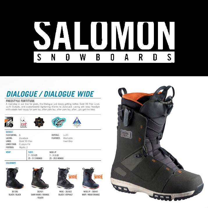 14-15 SALOMON DIALOGUE WIDE/14-15 DIALOGUE WIDE/14-15 ダイアログ ワイド/14-15 SALOMON/14-15 サロモン/SALOMON 2014/SALOMON DIALOGUE JP/SALOMON スノーボード/SALOMON ブーツ/サロモン スノーボード/サロモン ブーツ/SALOMON/サロモン