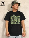 KINGSIZE Tシャツ/キングサイズ Tシャツ/半袖/MENS/メンズ/17-18 KINGSIZE WEED BLUNT TEE