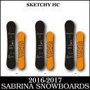 16-17 SABRINA SKETCHY HC/16-17 サブリナ スケッチーHC/SABRINA スノーボード/サブリナ スノーボード/138